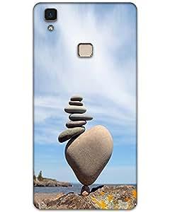 WEB9T9 Vivo V3 Max Back Cover Designer Hard Case Printed Cover