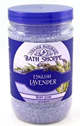 Village Natural Spa Body Soak Lavender & Chamomile 31 oz. (3-Pack) with Free Nail File