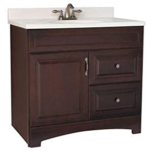 american classics by rsi gjvm36dy gallery 36 inch vanity cabinet only java home