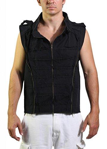 Mishu-Mens-M015-Canvas-Steampunk-Vest