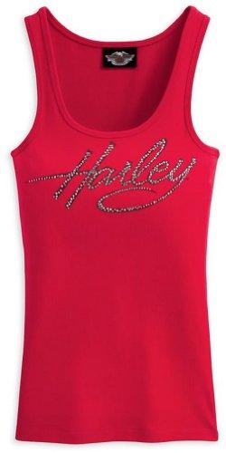 Harley-Davidson Women's Embellished Layering Tank Top Shirt. Rhinestone Embellishment. 99180-11VW