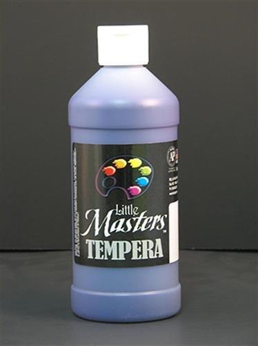 Little Masters Violet 16oz Tempera kitepie542lim201710 value kit rock paint distributing corp tempera paint lim201710 and elmer s washable all purpose school glue sticks epie542