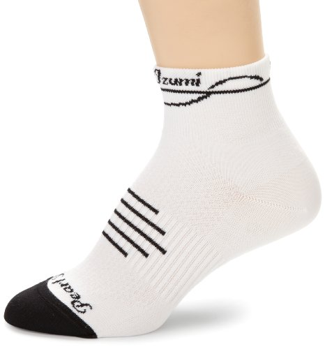 Pearl Izumi Women'S Elite Sock, White, Medium