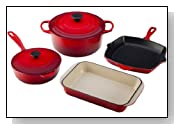 Le Creuset Signature Enameled Cast-Iron 6-Piece Cookware Set