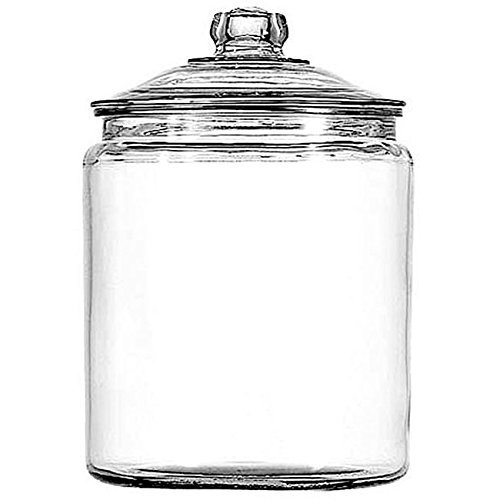 Anchor Hocking Corporation 2 Gallon Heritage Hill Storge Jar With Cover (Heritage Hill Glass Jar 2 Gallon compare prices)