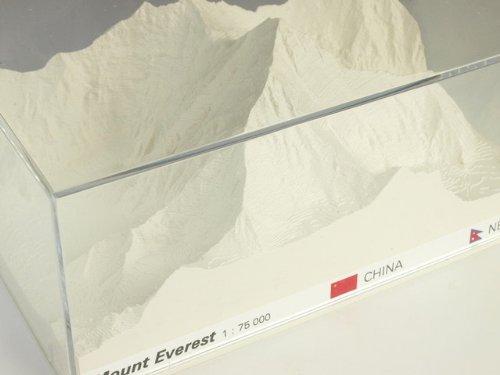 Reliorama レリオラマ スイス製精密山岳模型 5100 エベレスト ホワイト