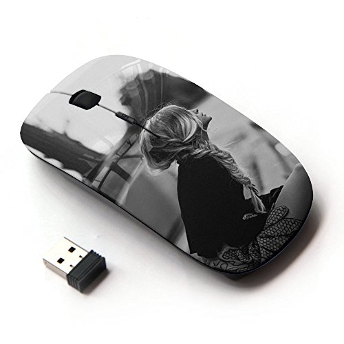 xp-tech-optical-24g-wireless-mouse-mice-for-pc-computer-laptop-lonely-blonde-girl-waiting-sidewalk