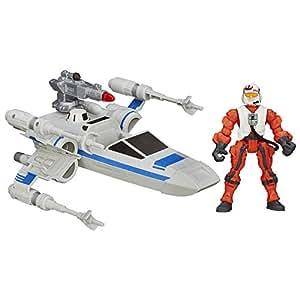 Star Wars Star Wars Hero Mashers Episode VII Resistance X Wing and Resistance Pilot