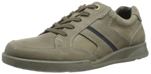 Ecco Transporter Black/Warm Grey Oil N/Oil Su, Casual uomo, Grigio (Grau (WARM GREY/MARINE 58529)), 43