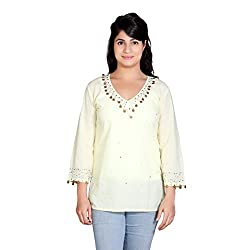 Tantra Annabelle Women's Top, Lime Yellow, Small