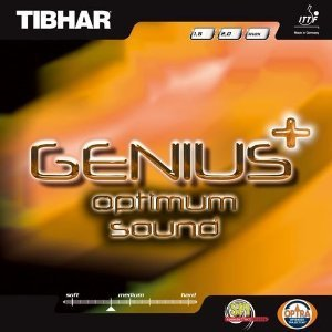Tibhar Belag Genius Optimum sound, max rot