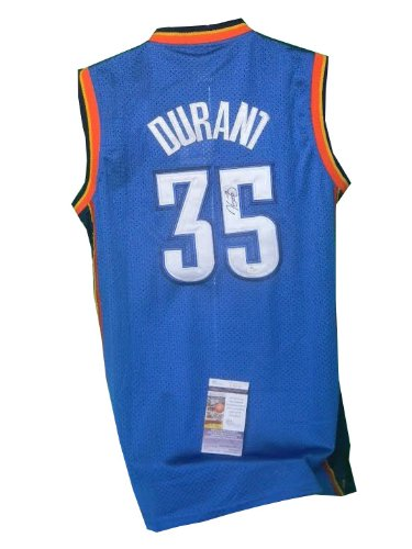 Kevin Durant Autographed Oklahoma City Thunder Jerseys GA COA at Amazon.com