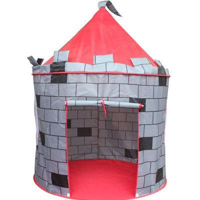 Big Save! Knight's Castle Play Tent by FinerKids Boys Girls Pop Up