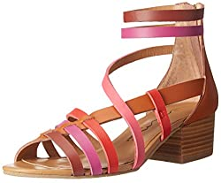 Nina Original Women's Victor Dress Sandal, Multi/Pink Stella, 7.5 M US