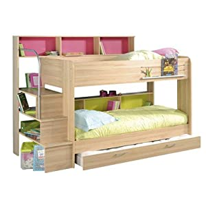 Kurt Trundle Bunk Bed Finish: Beech, Storage: With Trundle