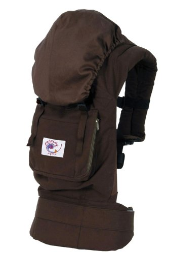 Cheapest Price! ERGObaby Organic Baby Carrier, Dark Chocolate