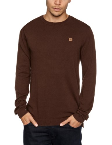 DC Clothing Sabotage 2 Men's Jumper Coffee Small