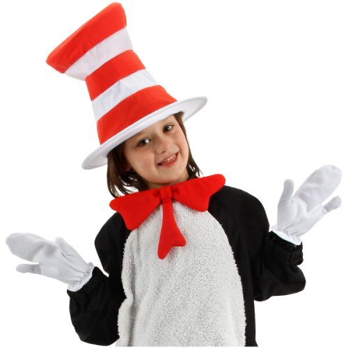 The Cat in the Hat Accessory Kit Costume Set