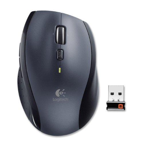 M705 Marathon Wireless Laser Mouse Black M705 Marathon Wireless Laser Mouse, Black