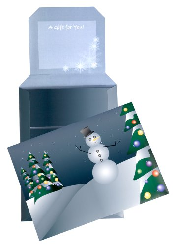 Quality Park Gift-E-Lope Holiday Expand-On-Demand Mailer, Holiday Printed, 7 X 10 Inches, Pack Of 5 (65100)