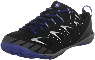 Merrell Embark Glove Gore-Tex(TM), Men's Running Shoes, Black/Olympia Blue J15269, 7 UK