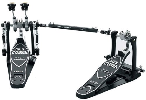 Tama TAMHP900PSWLN Iron Cobra Coil Power Glide Left-Handed Twin Bass Drum Pedal (Tama Cobra Coil compare prices)