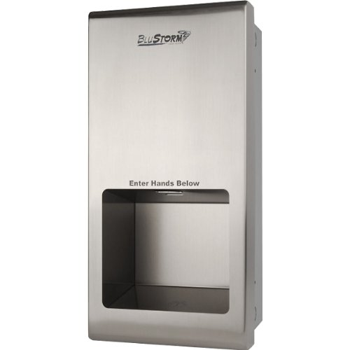 BluStorm Recessed High Speed Touchless Hand Dryer