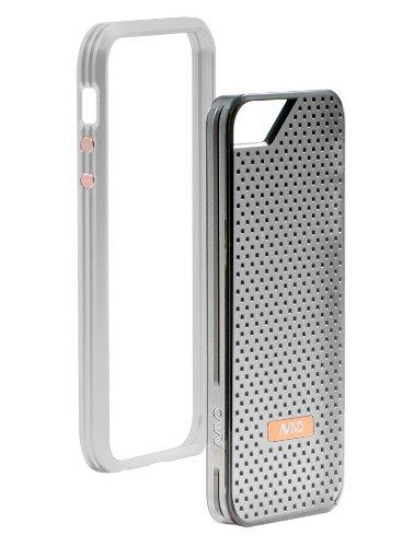 Special Sale Avivo Rail Carbonate / Apple iPhone 5 & 5S Polycarbonate Rail Motif Case (Frost White + Motif Jacket)