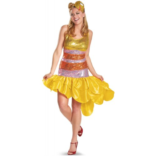Disguise Inc - Sesame Street Big Bird Glam Adult Costume