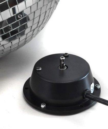 30cm (12″) Discokugel Discoball Spiegelkugel inkl. Motor Autorotation