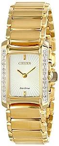 Citizen Women's EG2962-51A Euphoria Analog Display Japanese Quartz Gold Watch