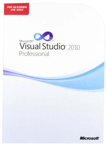Microsoft Visual Studio Pro 2010 Eng Ae DVD Academic use only