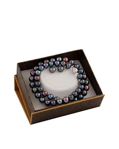 Splendid 2-Piece 8-9mm Black Pearl Set