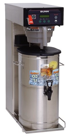 Bunn O Matic ITCB-DV Infusion Series Tea and Coffee Brewer, 10.12 x 23.22 x 34.04 inch -- 1 each.