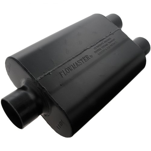 Flowmaster 9430452 Super 44 Muffler - 3.00 Center IN / 2.50 Dual OUT - Aggressive Sound 1500 Flowmaster Muffler