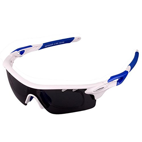 Y-H Polarized Cycling Sports Fishing 3 Interchangeable Lens Set Sunglasses-C2