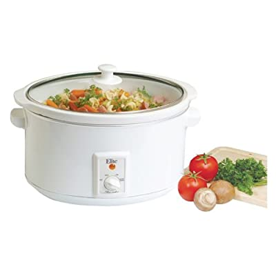 Maxi-Matic MST-800VW Elite Cuisine Large 8-1/2-Quart Slow Cooker, White from Maximatic
