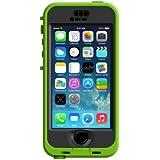 LifeProof NÜÜD iPhone 5/5s Waterproof Case - Retail Packaging - LIME/SMOKE