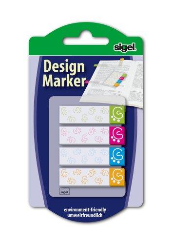 sigel-hn505-haftmarker-design-modern-4-farben-80-streifen-im-format-45-x-12-mm