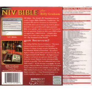 NIV Bible Plus Billy Graham Steps to Peace with God
