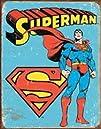 Tin Signs Superman -Retro Tin Sign 1335