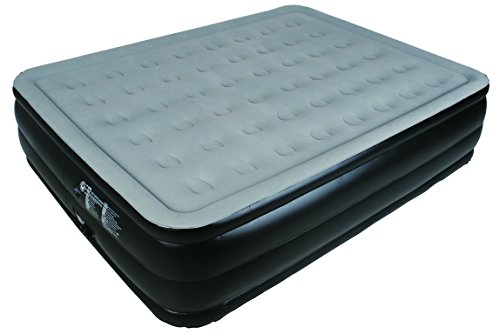 JILONG AIR BED HIGH RASEID QUEEN GRIGIO 212X163X55 MATERASSO GONFIABILECON ACCESSORI