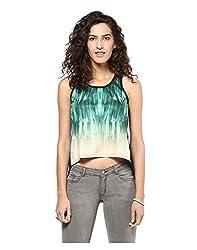 Yepme Women's Green Polyester Tops/Blouses - YPMTOPS1060_L