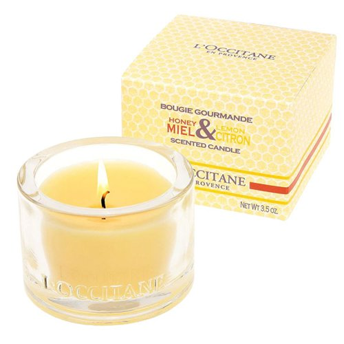 L'Occitane Honey & Lemon Scented Candle