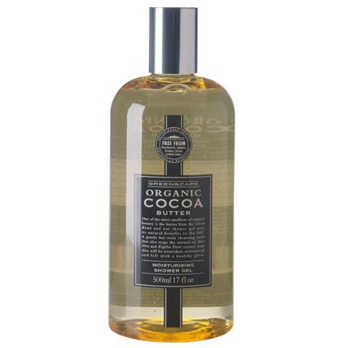 Big Sale Greenscape Organic Cocoa Butter Shower Gel 500ml Discount Iriscgoo