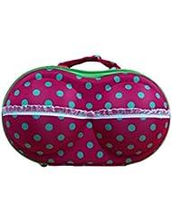 Everyday Desire Bra And Panty, Lingerie Organiser Travel Bag Underwear Bra Storage Bag Pink(green)