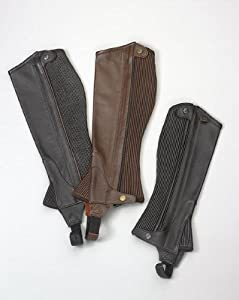 Ovation - Child Pro Top Grain Leather Half Chaps by Ovation