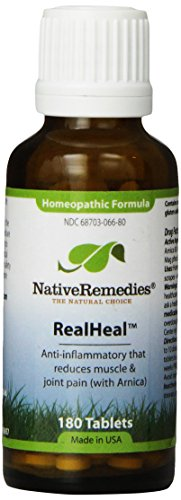Native Remedies RealHeal Tablets, 125-Count Bottle