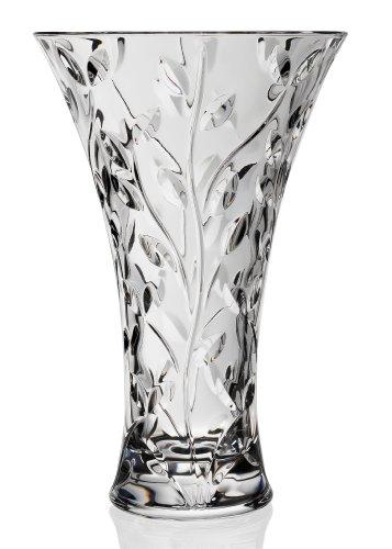 Rcr Laurus Vaso da 30 cm, Vetro, Trasparente