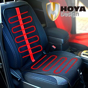 HOYA Korea Car Warmer Heated Seat Cushion Pad Cover For Winter Camping Outdoor Cigar Jack
